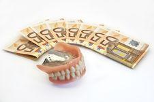Free Money And Denture Stock Photos - 14470553