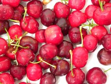 Free Juicy Cherries Stock Image - 14470741