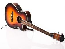 Free Acoustic And Electric Guitar Stock Photography - 14471022