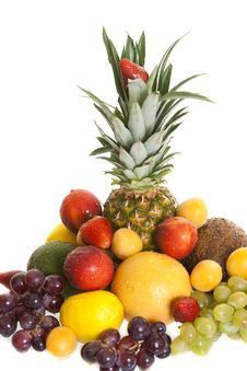 Free Various Types Of Fresh Fruit Royalty Free Stock Photography - 14471497