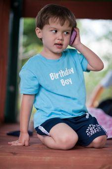 Free Birthday Boy Royalty Free Stock Image - 14471976