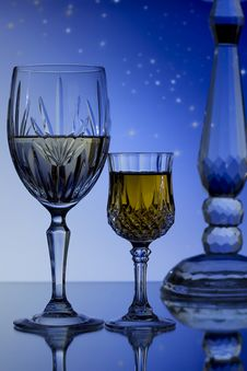 Free Wine For Two Under The Stars Stock Images - 14472104