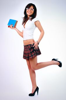 Free Young Attractive Sexy Schoolgirl Royalty Free Stock Photos - 14472588