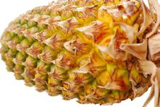 Free Pineapple Isolated On White Royalty Free Stock Images - 14472929