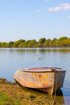 Free Boat On The River Stock Image - 14473681