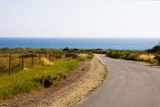 Free Road To The Beach Stock Photo - 14473700