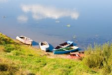 Free Boat On The River Royalty Free Stock Image - 14473716