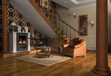 Free Room Interior Royalty Free Stock Photo - 14474325