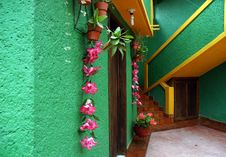 Free Building In In San Cristobal De Las Casas Stock Photography - 14474982