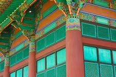 Free Korean Temple Stock Image - 14475211