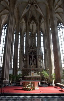 Interior Of Church Stock Photography