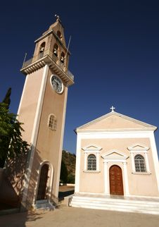Free Greek Chapel, Kefalonia Stock Images - 14478214