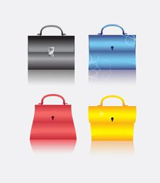 Free The Collection Bag Royalty Free Stock Image - 14478266