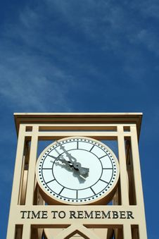 Free Time To Remember Clock Stock Images - 14478364