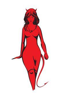 Free Woman-Demon Royalty Free Stock Image - 14478396