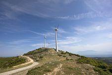 Free Wind Turbines Stock Photo - 14478840