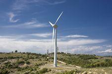 Free Wind Turbines Royalty Free Stock Photos - 14478928