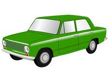 Free Soviet Car Lada Royalty Free Stock Images - 14479139