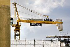 Free Crane Jig Stock Image - 14479201