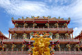 Free Chinese Temple And Na Zha God Stock Photo - 14482320