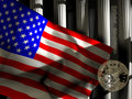 Free Flag And Columns Stock Images - 14487244
