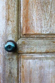 Free Vintage Wood Door Stock Image - 14480331