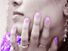 Free Nail Color Royalty Free Stock Photo - 14480505