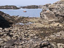 Free Anglesea Wales Coastal Path Sea View Royalty Free Stock Image - 14481596