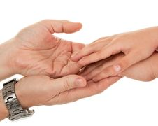 Free Adults And Children S Hands Stock Photography - 14481612