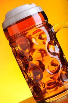 Free Mug Of Cold Beer Stock Photos - 14482613