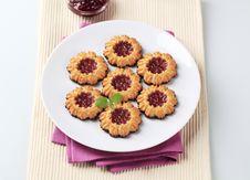 Free Jam Cookies Royalty Free Stock Image - 14482886