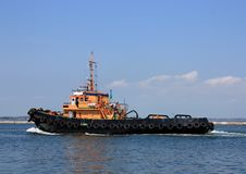 Free Moving Tugboat Royalty Free Stock Image - 14483296