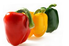 Paprika Traffic Light Royalty Free Stock Image