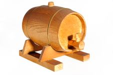 Free Wine Barrel Stock Photography - 14483392