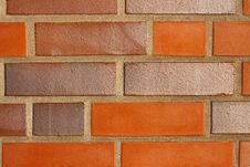 Free House Wall With Red Stones Stock Photography - 14483452