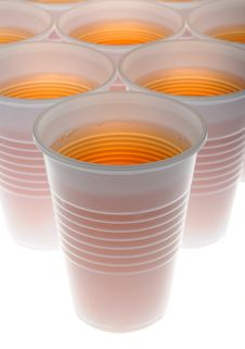Free Plastic Glasses Royalty Free Stock Image - 14483626