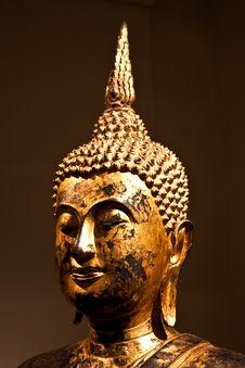 Free Sitting Bodhisattva - Detail Stock Images - 14483634