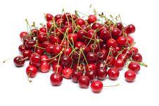 Fresh Ripe Cherry Berry Royalty Free Stock Photos