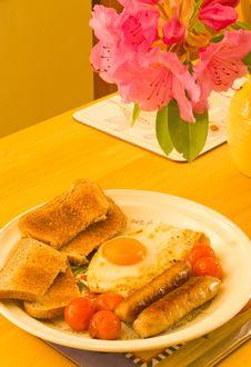 Free English Breakfast. Stock Photo - 14484640