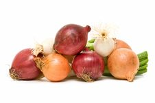 Free Variety Of Onions Stock Photography - 14484902