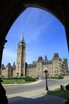 Canada Parliament Historic Building Stock Photos