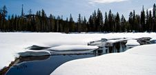 Free Pristine Winter Lake Stock Photo - 14485350