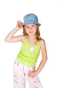 Free Cute Little Girl Stock Images - 14485964