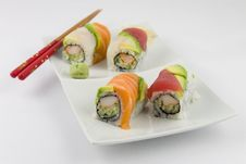 Free Fancy Sushi Roll Stock Photography - 14485972
