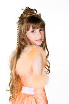 Free Cute Little  Princess Stock Photos - 14486013