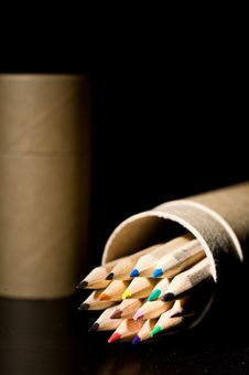 Free Color Pencils Royalty Free Stock Image - 14486176