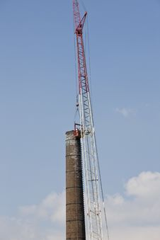 Free Crane / Demolition Stock Photography - 14486182