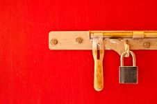 Free Lock On The Door Stock Images - 14486234