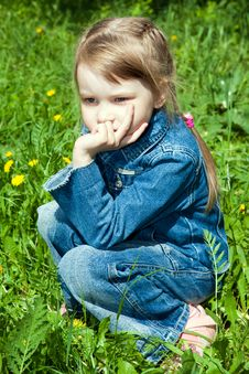 Free The Thoughtful Girl 1 Stock Photography - 14487042
