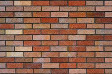 Free Brick Wall Background Texture Royalty Free Stock Photography - 14487277